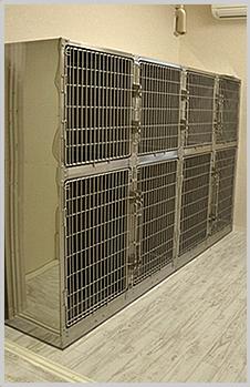 - 犬用入院室 -