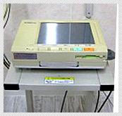 【動物用解析付心電計】 心臓の電気的な活動の様子をグラフの形に記録することで、心疾患の診断と治療に役立てるものです。