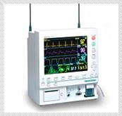 【動物用生体情報モニター】 安全に麻酔を維持、管理するために炭酸ガス濃度・麻酔ガス濃度・脈波、動脈血酸素飽和度・心電図・血圧・呼吸数・体温をモニタします。