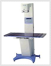 【小動物専用X線装置】 通常のレントゲン撮影や消化管造影なども行います。
