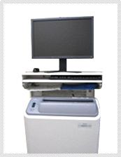 【FCR】 デジタルX線診断システムです。撮影したレントゲンを各診察室、手術室の モニターへ送ります。